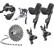 Sram Force 22 HRD Umruestkit 11x2 fach Disc Post Mount