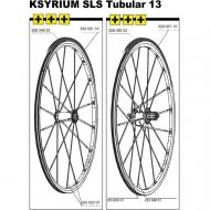 Mavic Ksyrium SLS Ersatzspeiche Hinterrad Tubular 301,5 mm links
