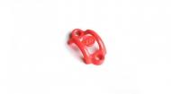 Magura MT Lenkerklemmschelle Neon-Rot ohne Schrauben