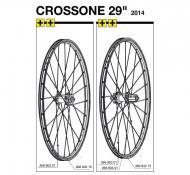 Mavic Crossone Ersatzfelge 29 Zoll Modell 2014
