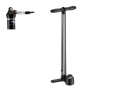 Lezyne Shock Digital Drive Standpumpe silber 20 bar