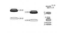 Rock Shox Pike Service Kit Full Dual Position ab 2013