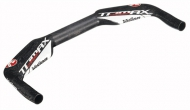 Vision Tri Max Carbon Lenker 41 cm Breite 31,8 mm Klemmung rot-schwarz