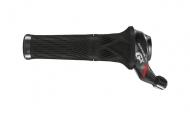 Sram GX Grip Shift Schaltgriff 2 fach schwarz-rot links