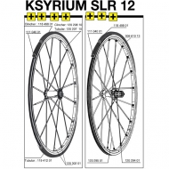 Mavic Ksyrium SLR Ersatzfelge Hinterrad Clincher Exalith Modell 2012