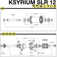 Mavic Ksyrium SLR Lagerabdeckung Vorderrad 2 Stueck Mod 2012