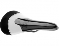 Tune Komm Vor Carbon UD Sattel Gestell Carbon Farbe Schwarz Weiss