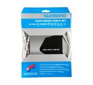 Shimano Dura Ace BC 9000 Bremszug Set polymer beschichtet weiss