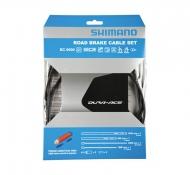 Shimano Dura Ace BC 9000 Bremszug Set polymer beschichtet grau