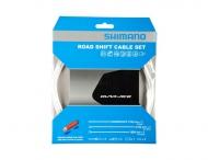 Shimano Dura Ace Schaltzug Set SLR-EV polymer-beschichtet weiss