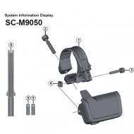 Shimano XTR Di2 Ersatzteil Display SC-M9050 Mutter Nr 4