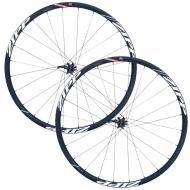 Zipp 30 Course Disc Laufradsatz Clincher Alu Rotor ED11 schwarz-weiss