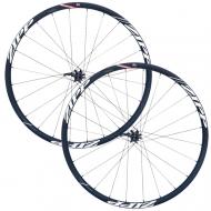 Zipp 30 Course Disc Laufradsatz Clincher Alu Rotor XD11 schwarz-weiss