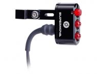 Supernova E3 Tail Light 2 Ruecklicht LED Sattelstuetzen Montage schwarz