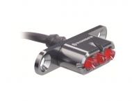 Supernova E3 Tail Light 2 Ruecklicht LED titangrau Gepaecktraeger Montage Kabelabg. 0 Grad