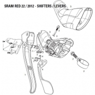 Sram Red 22 DoubleTap Ersatz Gehaeuse ohne Mechanik links Nr 3