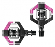 Crank Brothers Candy 7 Pedale pink-schwarz inclusive Cleats