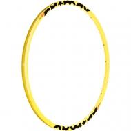 Mavic Crossmax Enduro 26 Zoll Ersatzfelge Vorderrad 24 Loch gelb Mod 2014