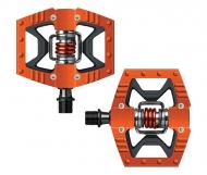 Crank Brothers Double Shot Pedal orange-schwarz