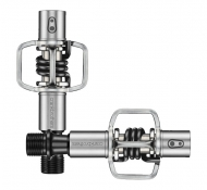 Crank Brothers Eggbeater 1 Pedale Enduro-igus II incl Cleats silver-black
