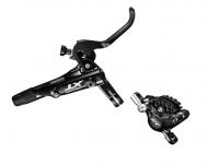 Shimano XT Scheibenbremse M8000 Ice-Tec Hinterrad Griff rechts schwarz