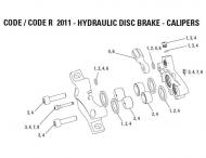 Avid Code Ersatzteil Bremssattel Schrauben Kit ab Mod 2001 Nr 3