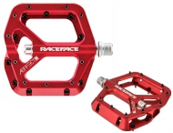 Race Face Aeffect Flatpedal Farbe rot