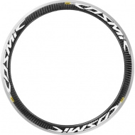 Mavic Cosmic Pro Carbon Felge Hinterrad Decor weiss ab Modell 2016
