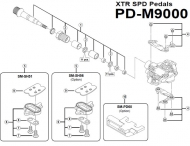 Reflektorsatz fuer Pedale PD-M9000 Nr 10