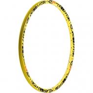 Mavic Deemax Ultimate Vorderrad Felge 27,5 Zoll gelb 28 Loch