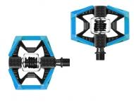 Crank Brothers Double Shot Pedal blau-schwarz
