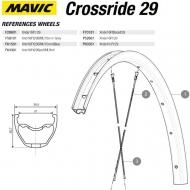 Mavic Crossride Disc Ersatzfelge Vorderrad 29 Zoll Modell 2016