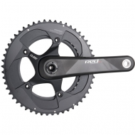 Sram Red 22 - eTap Kurbel BB386 Exogram 50-34 Zaehne 175 mm black