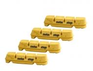 SwissStop Bremsgummis Flash Pro Yellow King Road Shim/Sram 2 Paar