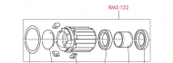 Fulcrum Freilaufkoerper Red Metal - 3 - 5 - 29 - Red Zone