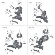 SHIMANO SCHALTWERK-EINSTELLSCHRAUBE M PLATTE RD-M8000 Y-5RT98070