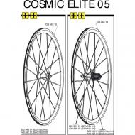 Mavic Cosmic Elite Ersatzspeiche VR - HR 285 mm Mod 2005-10