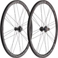Campagnolo Bora One 35 DB Laufradsatz Disc CL Clincher Dark Label Rotor Campa ED