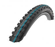 Schwalbe Dirty Dan Evo Reifen Addix Speedgrip LiteSkin 29 Zoll x 2.00 schwarz blau