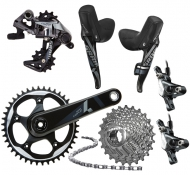 Sram Force 1 Gruppe Disc Flat Mount BB30