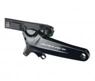 Shimano Dura Ace Powermeter FC-R9100P ohne Kettenblaetter 165 mm