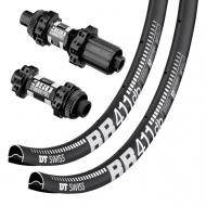 Laufradsatz DT Swiss 350 Straightpull Centerlock + DT Swiss RR 411 DB Felgen