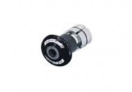 FSA Kompressor Kralle Aluminiumn Deckel 1 1/8 Zoll fuer 21-26, 2mm Gabelschaft