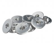 Suicycle 36. Topcap Headsetkappe fuer 1 1/8 Zoll Steuersatz silber