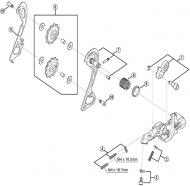 Ersatzteile Shimano XT Schaltwerk RD-M780 10 fach