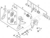 Shimano Dura Ace Schaltwerk RD-9000 - Befestigungsschraube Nr 1