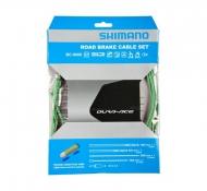 Shimano Dura Ace BC 9000 Bremszug Set polymer beschichtet gruen