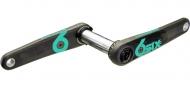 Race Face SIXC Kurbelarme 170 mm Cinch Achse 68-73 mm Turquoise
