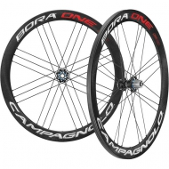 Campagnolo Bora One 50 DB Laufradsatz Disc CL Tubular Bright Label Rotor Campa ED