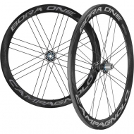 Campagnolo Bora One 50 DB Laufradsatz Disc CL Tubular Dark Label Rotor Campa ED
